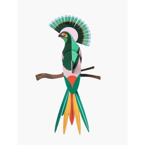 Wall totem, Paradise bird Gili (Studio ROOF)