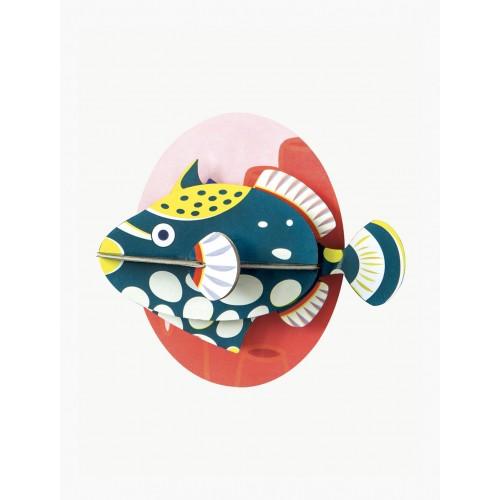 Wall totem little fish, Clown fish (Studio ROOF)