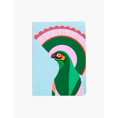 Carnet A5, oiseau de paradis Gili (Studio Roof)