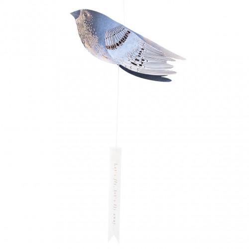 Oiseau bleus d'encre, L'envol (Räder)