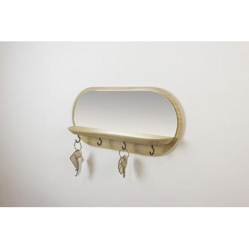 Keys holder & glass (Reine Mère)