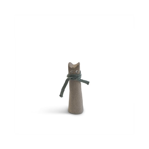The Curious, chat gris PM (Aveva Design)