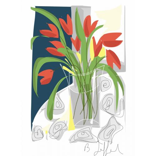 Affiche Les Tulipes de Sandrine (B. Jaffart)