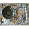 Assiette pasta Maguelone, gris Orage (Jars Céramistes)