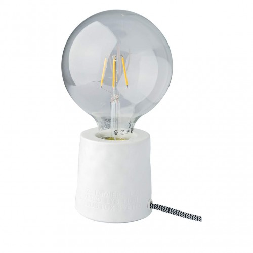 Porcelain base lamp, Poésie (Räder)