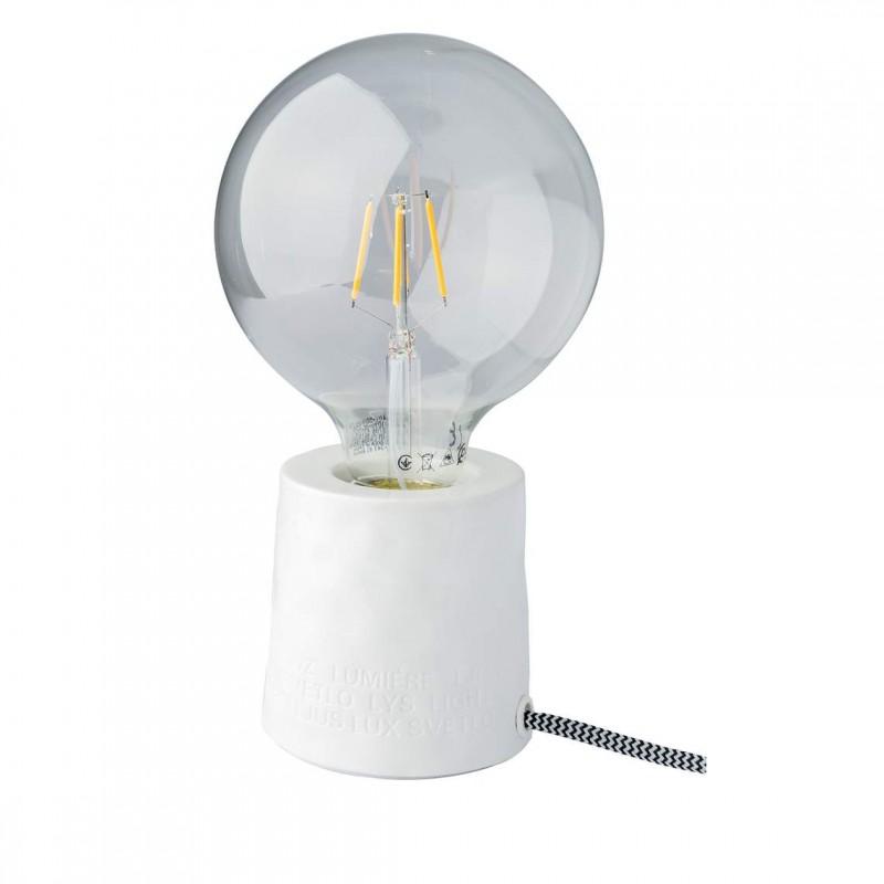 Pied de lampe en porcelaine, Poésie (Räder)