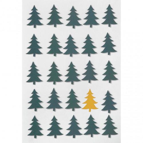 Carte Forêt de sapins (Räder)