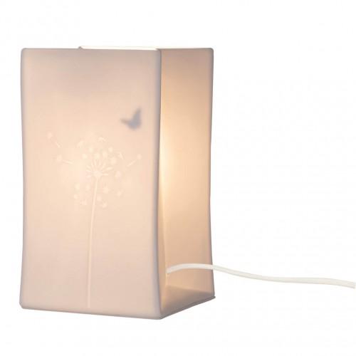Lampe en porcelaine, Papillon (Räder)
