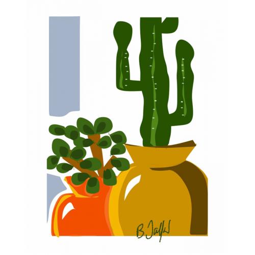 Affiche Le Cactus (B. Jaffart)