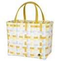 Shopper bag Fifty fifty mustard yellow (Handed By)
