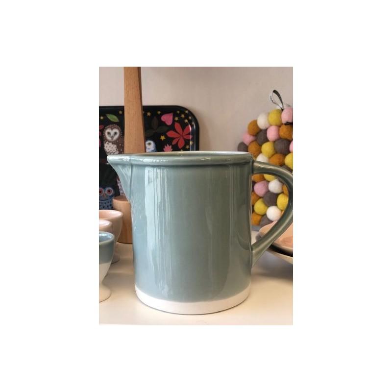 Pichet Cantine gris chaux (Jars Céramistes)
