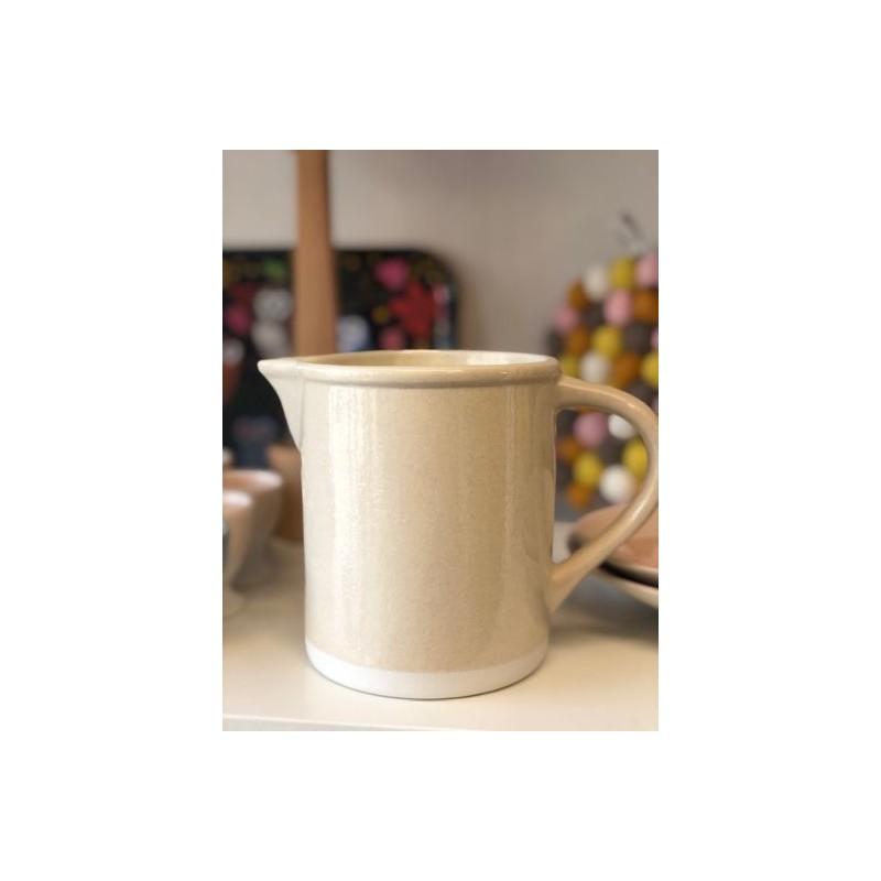 Pichet Cantine beige corde (Jars Céramistes)