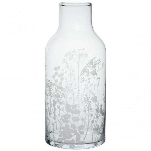 Vase en verre sérigraphié MM (Räder)