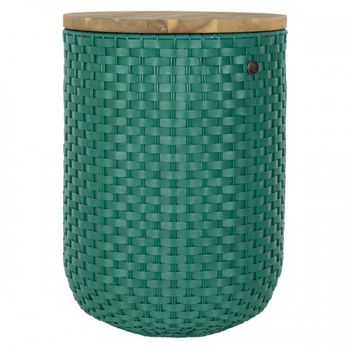 Seat, table & basket Halo, green (Handed By)