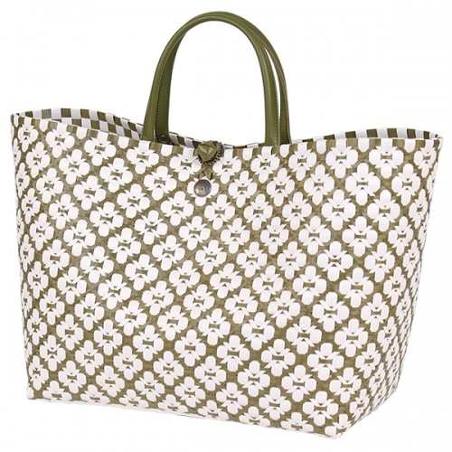 Shopper bag Motif green oliver (Handed By)