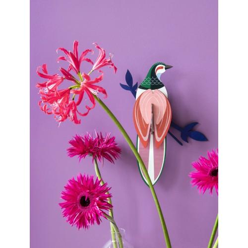 Wall totem, Paradise bird Banda (Studio ROOF)
