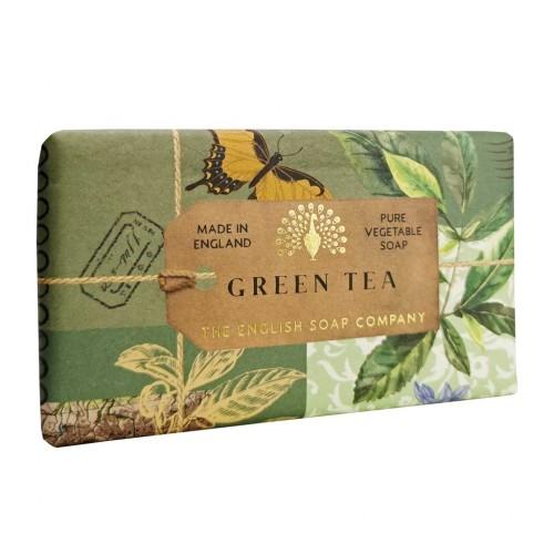 Savon raffiné 190 g, Thé vert (The English soap Company)