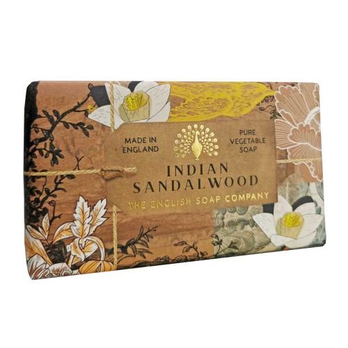 Savon raffiné 190 g, Bois de santal (The English soap Company)