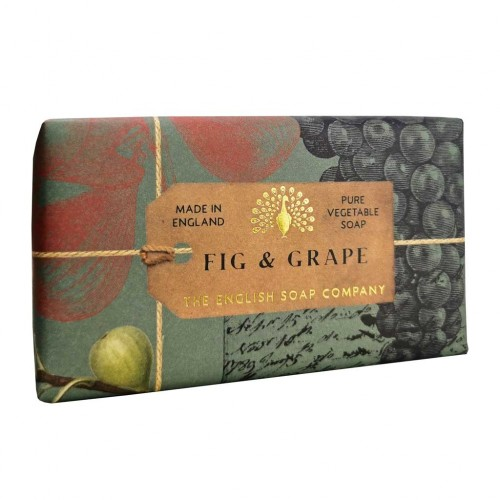 Savon raffiné 190 g, Figue & raisin (The English soap Company)