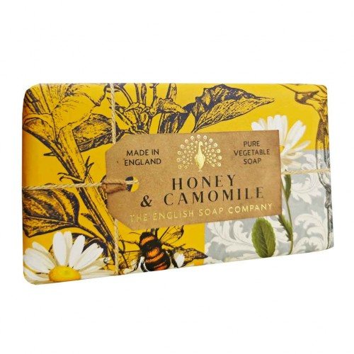 Savon raffiné 190 g Miel & camomille (The English soap Company)