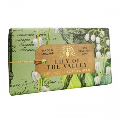 Finest bath soap 190 g, Lily of the Valley (The English soap Company)