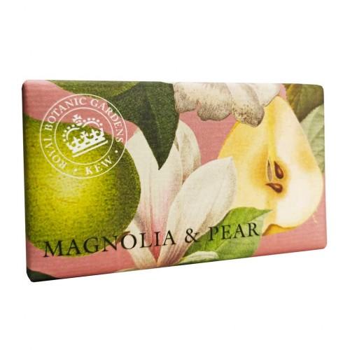 Savon raffiné 240 g, Magnolia & poire (The English soap Company)