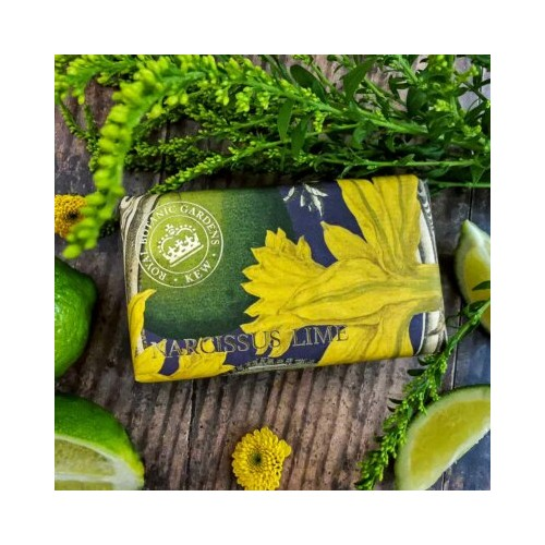 Finest soap Narcissus lime (The English soap Company)