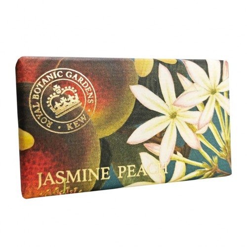 Savon raffiné 240 g, Jasmin & pêche (The English soap Company)