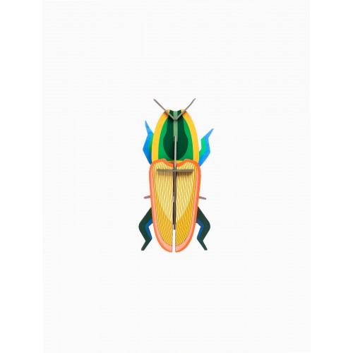 Wall totem Madagascar beettle (Studio ROOF)