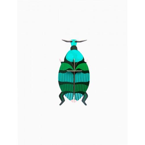 Wall totem Weevil beetle (Studio ROOF)