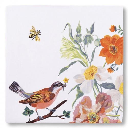 Carreau céramique, Oiseau et abeille (StoryTiles)