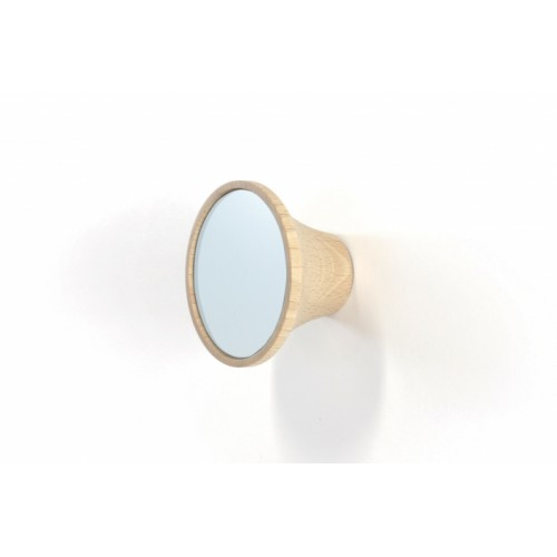 Wood peg with laminated blue Artic, Clairon (Reine Mère)