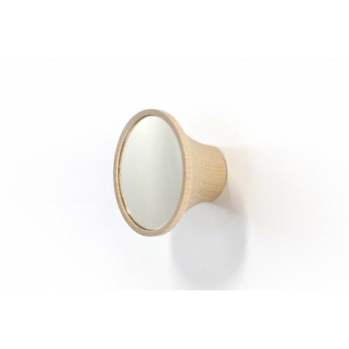 Wood peg with glass, Clairon(Reine Mère)