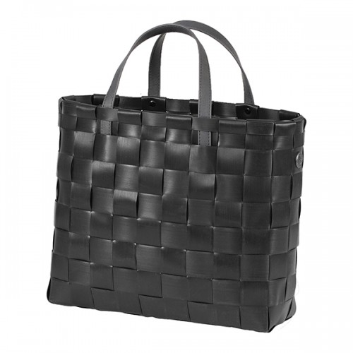 Panier shopper noir, Petite (Handed By)