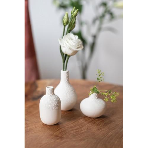 Set de 3 petits vases perlés (Räder)