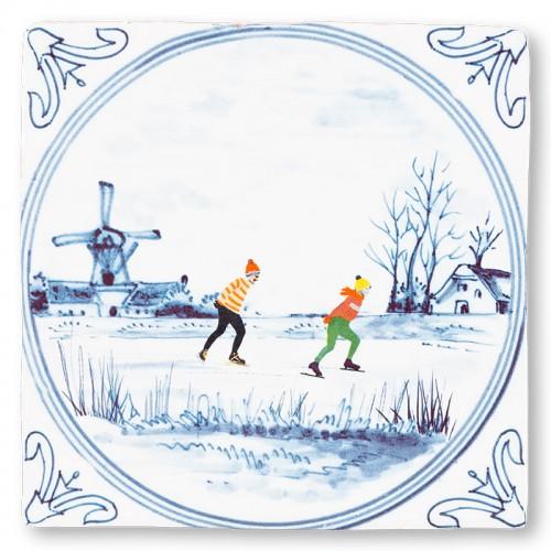 Tile Dutch winter (StoryTiles)