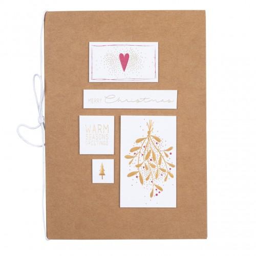 Carte double de Noël, Merry Christmas (Räder)