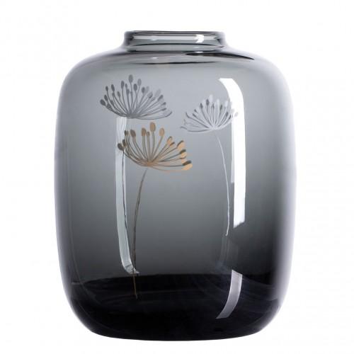 Vase en verre décoré (Räder)